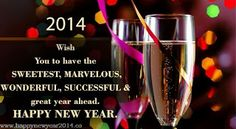 Best Happy New Year Greeting Card | Happy New Year 2014