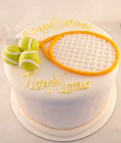 Tennis Lover custom cake