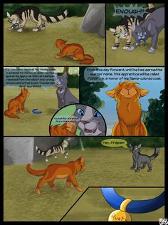 Warriors Into The Wild Page 25 by SassyHeart on DeviantArt