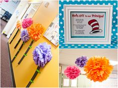 With the end of the school year right around the corner, what a perfect time to say THANK YOU! to all the teachers out there?!? We absolutely love this Dr. Seuss themed teacher appreciation week Maegan Birr from Scrapaholics + Simply Styled Home shared with us!