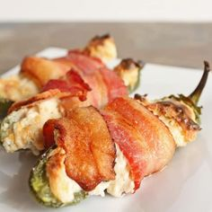 bacon wrapped crab-stuffed jalapeno poppers