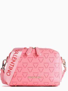 VALENTINO - eccentrico Valentino Bags, Gym Bag, Polyester, Shoulder Bag, Logo, Products, Shoulder Bags, Trotter, Zipper