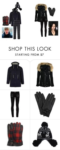 """""""Merry Christmas / I could care less"""" by kurtifer ❤ liked on Polyvore featuring Bellfield, Paige Denim and UGG Australia"""