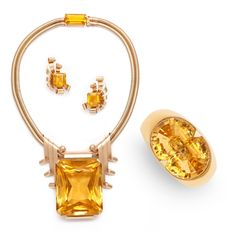 Citrine Suite By Raymond Yard formerly in the collection of Joan Crawford