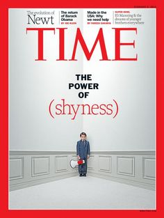 Another great artical . The power of shyness.