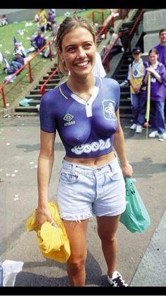 Naughty sexy football fans