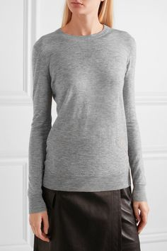 Joseph - Cashmere Sweater - Gray - x large