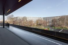 NL Architects and XVW architectuur's renovation of the deFlat Kleiburg housing complex is one of five finalists for the European Union prize for Contemporary Architecture.  Design: NL Architects; XVW architectuur Location: Amsterdam, The Netherlands Photos: Marcel van der Brug, Stijn Spoelstra