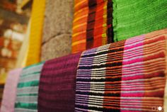 Beautiful handmade scarves produced by the Choki Women's Cooperative in Bhutan! #choki #handmade