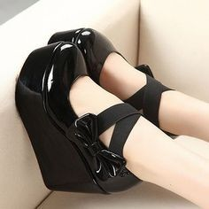 In patent leather