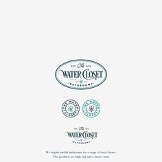 Create an eyecatching vintage type logo for The Water Closet by ∷I P S W I C H∷