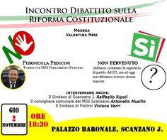 TOUR DI PEDICINI (M5S) A RIONERO, POLICORO, SCANZANO, BARAGIANO E GENZANO DAL 31 OTTOBRE AL 3 NOVEMBRE PROSSIMI