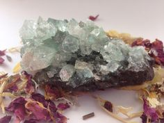 Apophyllite Cluster Wicca Witchcraft by TheStatelyRaven on Etsy