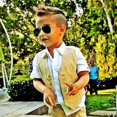 So wish husband would let me cut Ethan's hair like this!!!