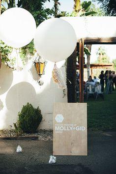 diy wood wedding signs