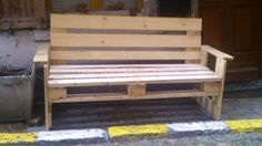 image42 600x337 Pallet benches in the streets of Bruxelles in pallets store pallet outdoor project  with pallet street art pallet benches