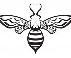 honey bee stylized - Google Search