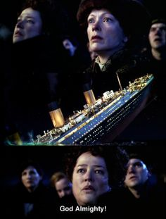 I love Molly Brown. She has one of the best hearts in this movie Titanic Movie Facts, Titanic Quotes, Real Titanic, Titanic Ship, Titanic History, Movie Photo, Movie Tv, Young Leonardo Dicaprio, King Of The World