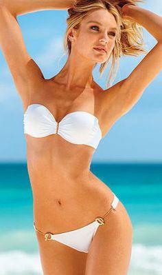 Victoria's Secret. perfect tan bathing suit