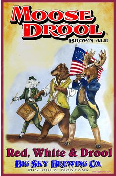 Big Sky Brewing Company 4th of July Poster