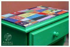 Muebles reciclados - Mesas de luz + Mosaico + Color + Diseño! . . .  #mosaico #mosaic # mosaiquismo #mosaicart #arte #diseño #decoracion #deco #utilitarios #muebles # hogar #reciclado #restauración #color #home #design #interiores #mesadeluz #bethroom #hechoamano #artesanal #handmade #único #akbalmosaico #tandil #argentina