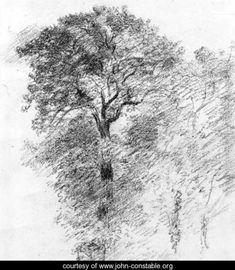 Elm Trees - John Constable - www.john-constable.org
