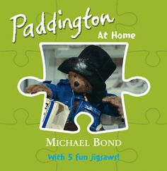 Little ones will love this simple story about Paddington helping around the house, with an easy-assemble 9-piece jigsaw on every spread.