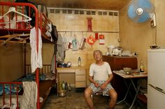 MICHAEL WOLF PHOTOGRAPHY 100 x 100  showed 100 different Hong Kong 'apartments' that were 100 square feet in size.