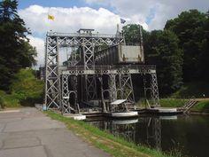 Scheepsliften op het Centrumkanaal, Strepy-Bracquegnies, België