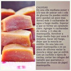 """""""Receta de Calugas Caseras #DíaDelNiño"""" Photo taken by @virginiademariaoficial on Instagram, pinned via the InstaPin iOS App! http://www.instapinapp.com (08/09/2015)"""
