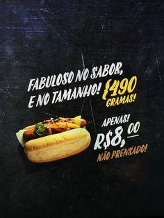 Conceito de campanha promocional para a Hot-Doggery.