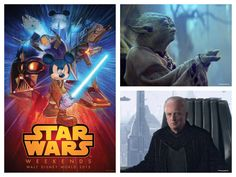 Frank Oz (Yoda) and Ian McDiarmid (Senator/Emperor Palpatine) are among the Stars announced for Star Wars Weekends 2015 at Disney's Hollywood Studios!