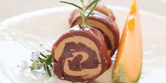 Roulé de magret de canard fumé au foie gras - Cuisine Actuelle !