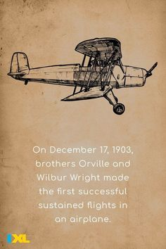 Orville was the first, gliding 120 feet through the air in 12 seconds! #OnThisDay #TBT