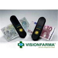 IDENTIFICADOR DE BILLETES para invidentes, ciegos, problemas de visión, que no ven bien, cegueras visuales.  Este detector tiene un diseño muy simple,y con un sencillo botón único, es muy fácil de usar.   Al apretar el botón, vibra en función del valor del billete: - 1 vibración= 5 euros - 2 vibraciones = 10 euros - 3 vibraciones = 20 euros - 4 vibraciones = 50 euros