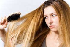 Hair tangles can be a pain- combing them out can be frustrating for both you and the kids, involve lots of whining or crying, or at the very least, be time consuming. Making your own inexpensive hair detangling spray is quick and easy, here's how
