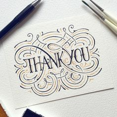 Hand lettering by Dark Gravity Hand Lettering Quotes, Creative Lettering, Types Of Lettering, Brush Lettering, Lettering Design, Calligraphy Letters, Typography Letters, Thank You Typography, Typographie Inspiration