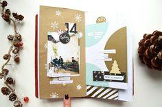 December Daily in Traveler's Notebook
