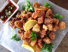 Deep Fried Beef Tendon (paleo, AIP)