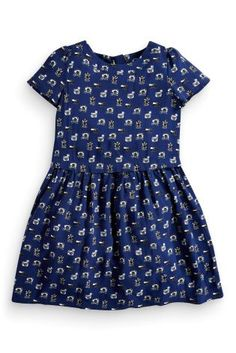 Buy Navy Camera Print Dress (3-16yrs) online today at Next: Israel