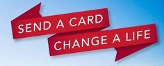 Sending a greeting card using SendOutCards.