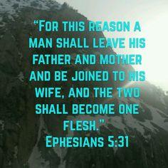 Ephesians 5:31