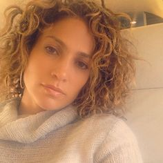 Jennifer Lopez Shows Off Her Short, Curly Hair—See the Pic! Jennifer Lopez, Curly Hair