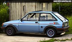 Blue Ford Fiesta Mk2 XR2 Turbo by retromotoring, via Flickr #Retroawesome