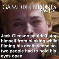 Jack Gleeson, Rory Mccann, Game Of Thrones Facts, Game Of Trones, The North Remembers, Book Characters, His Eyes, It Cast, Songs