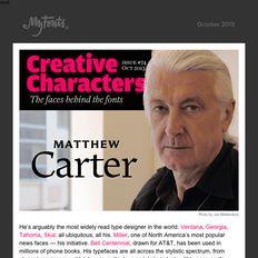 Matthew Carter interview, October 2013