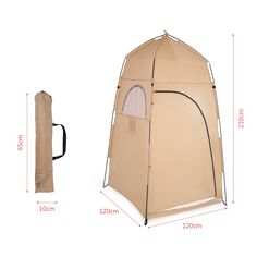 TOMSHOO Portable Outdoor Shower Bath Changing Fitting Room Tent Shelter Camping Beach Toilet - Walmart.com - Walmart.com Portable Outdoor Shower, Portable Tent, Portable Heater, Portable Toilet, Outdoor Showers, Outdoor Privacy, Outdoor Gear, Toilet Tent, Outdoor Toilet