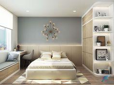 Thiết kế nội thất căn hộ chung cư 2 phòng ngủ tại dự án Hoàng Anh Thanh Bình rộng 70m2