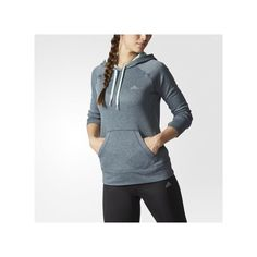 adidas Ultimate Pullover Hoodie MULTI ($50) ❤ liked on Polyvore featuring activewear, activewear tops, red, adidas, hooded pullover, sweater pullover, adidas pullover and adidas sportswear