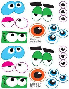 halloween eyes template - Cerca con Google